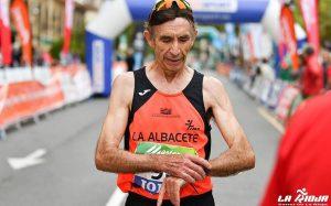 Joaquín Saiz, running jara